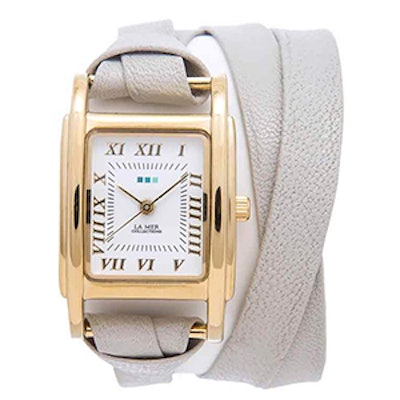 Stone-Gold Milwood Double Strap Watch