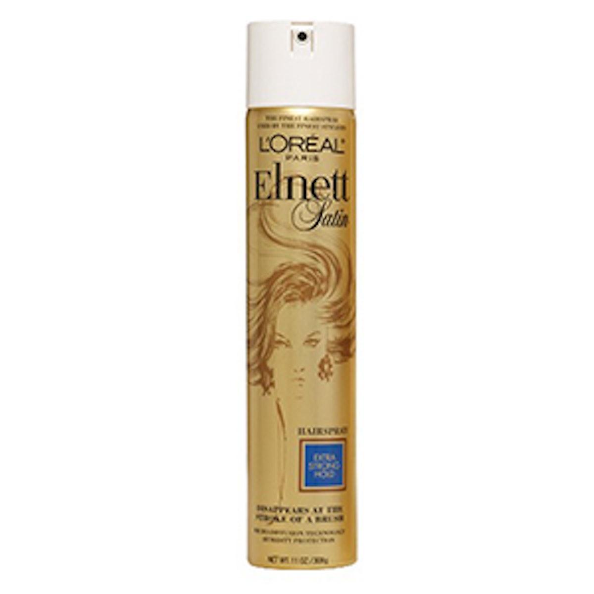 L'Oreal Paris Elnett Satin Hairspray Extra Strong Hold – 11.0oz