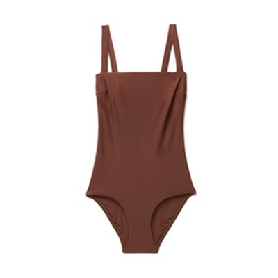Square Maillot Swimsuit