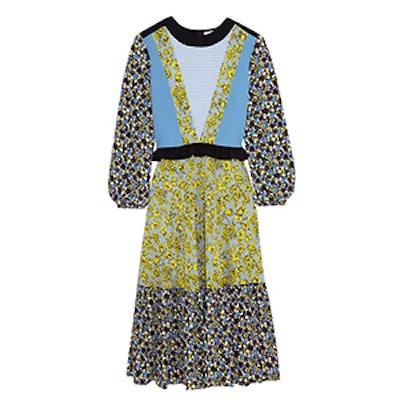 Printed Silk Dress