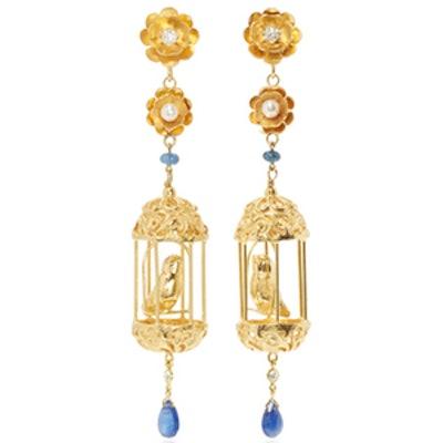 Gold Aviary Classic Earrings