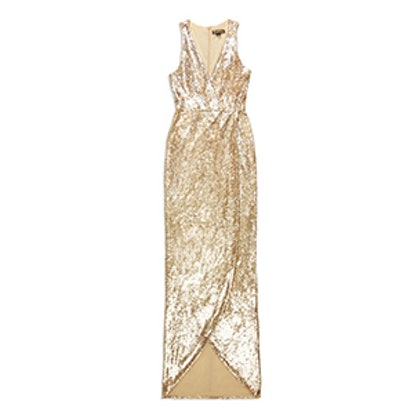 Pollux Sequin Gown