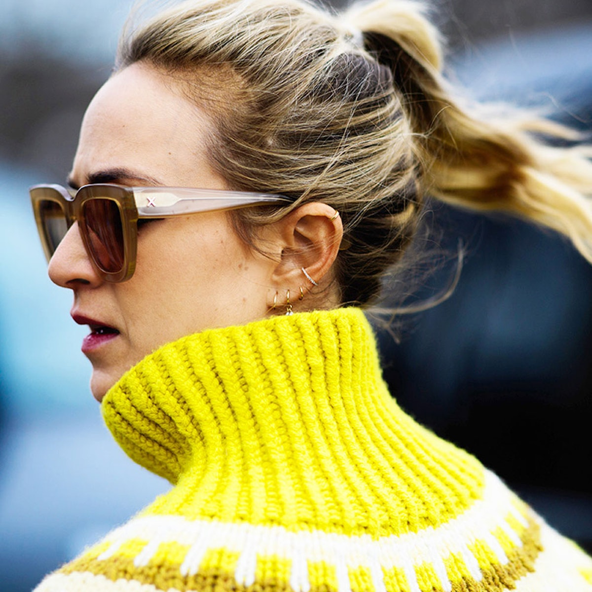 This Is The New Ear Jacket Trend