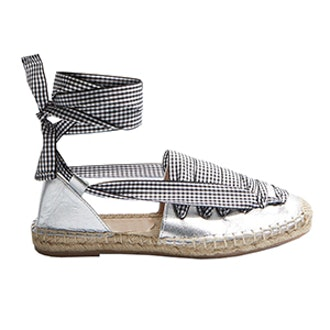 King Lace Up Espadrille