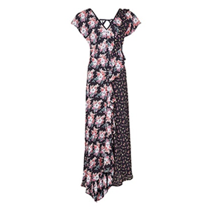 Splice D-Ring Maxi Dress
