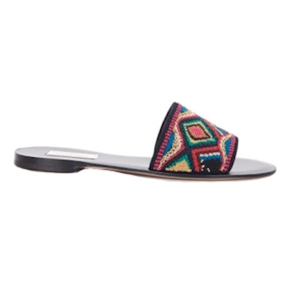 Native Couture Beaded Slides
