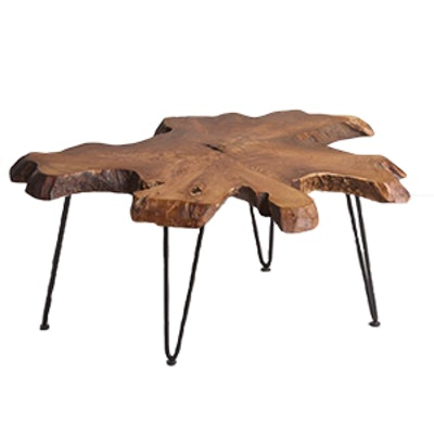 Wood Slice Coffee Table