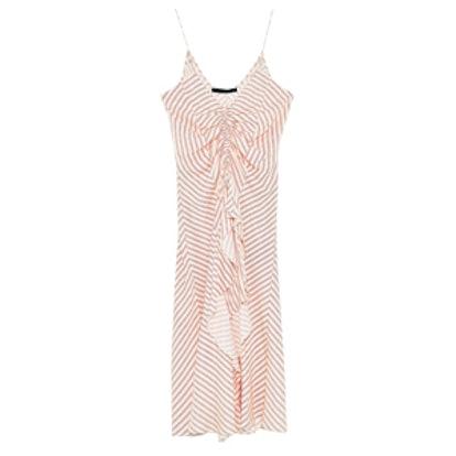 Strappy Asymmetric Dress