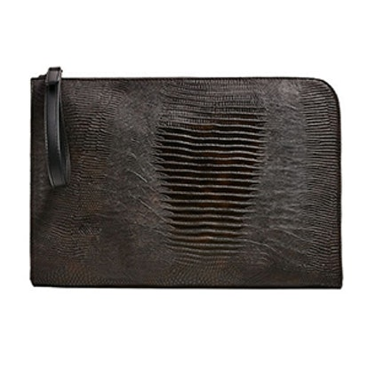 Embossed Reptile Texture Document Holder