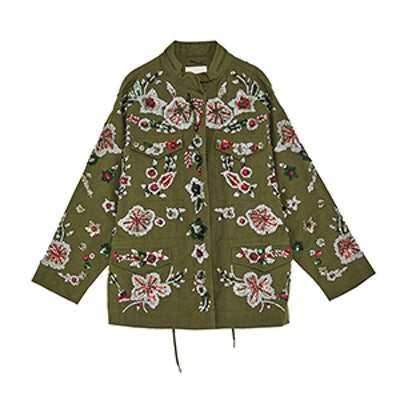 Limited Edition Embroidered Parka