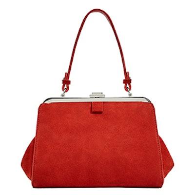 Mini Split Suede City Bag