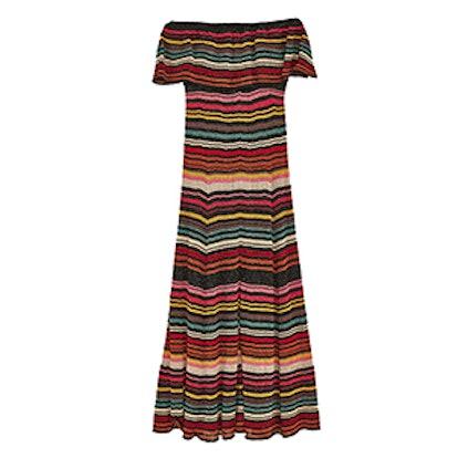 Multicolored Striped Dress