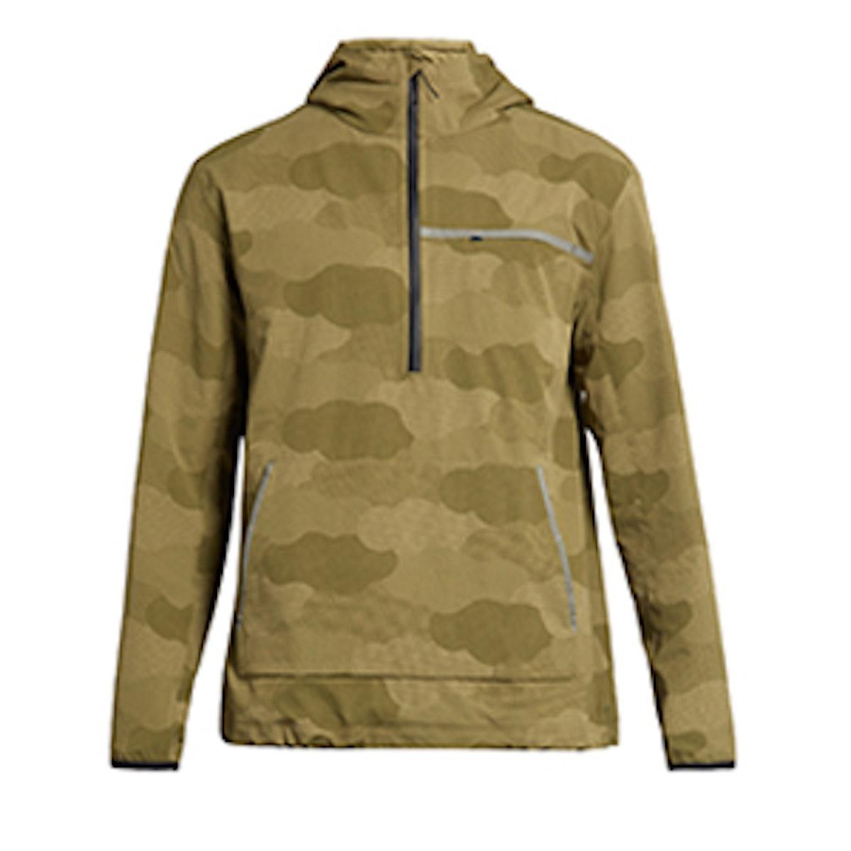 Water-Resistant Hooded Performance Jacket
