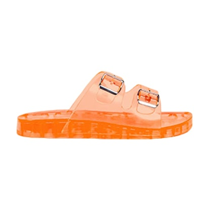 Buckled Jelly Slides