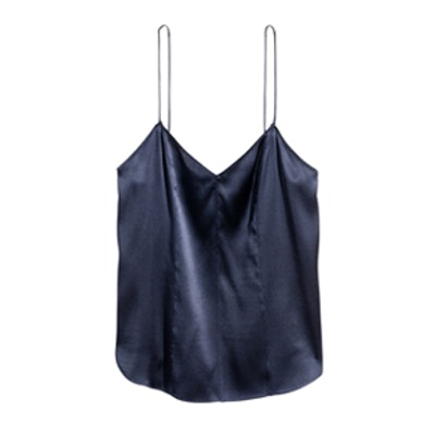 Silk V-Neck Camisole Top