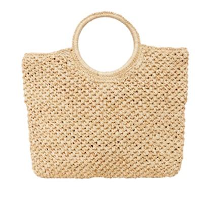 Small Round Handle Bag