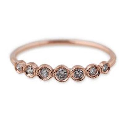 7 Graduated Diamond Ring