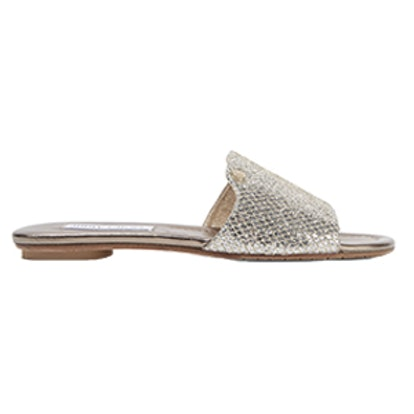 Nanda Glittered Canvas Slides