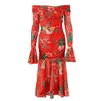Leda Stretch Lace Dress