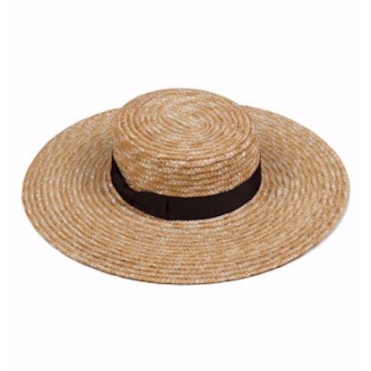 The Spencer Wide Brimmed Boater Hat