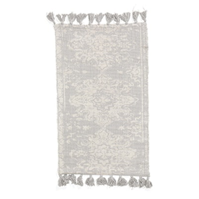 Made In India Rug With Tassels, 5×7