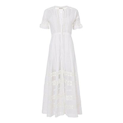 Edie Button-Down Maxi Dress