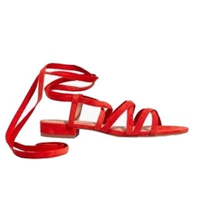 Madewell The Holly Ankle-Wrap Sandal