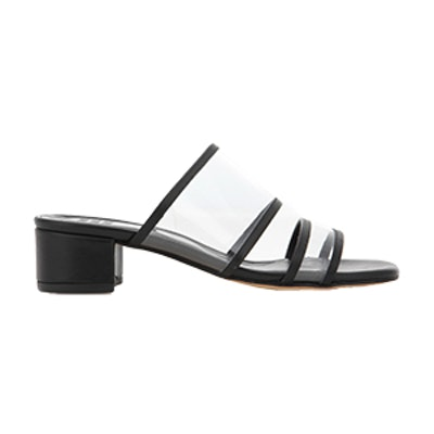 Martina Leather Slip-On Sandals