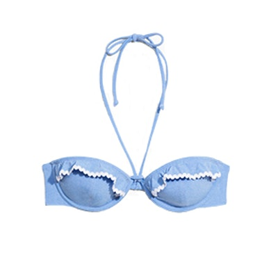 Frill Wire Bikini Top