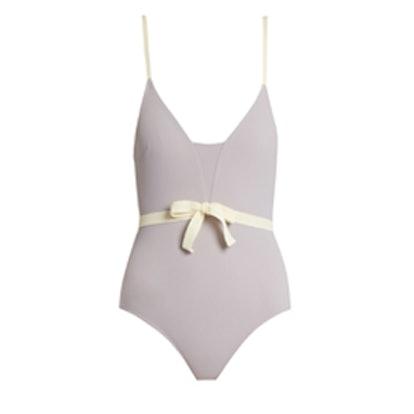 Waist-Bow Swimsuit