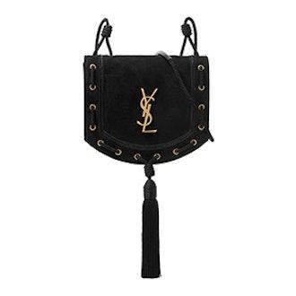Monogramme Fetish Suede Shoulder Bag