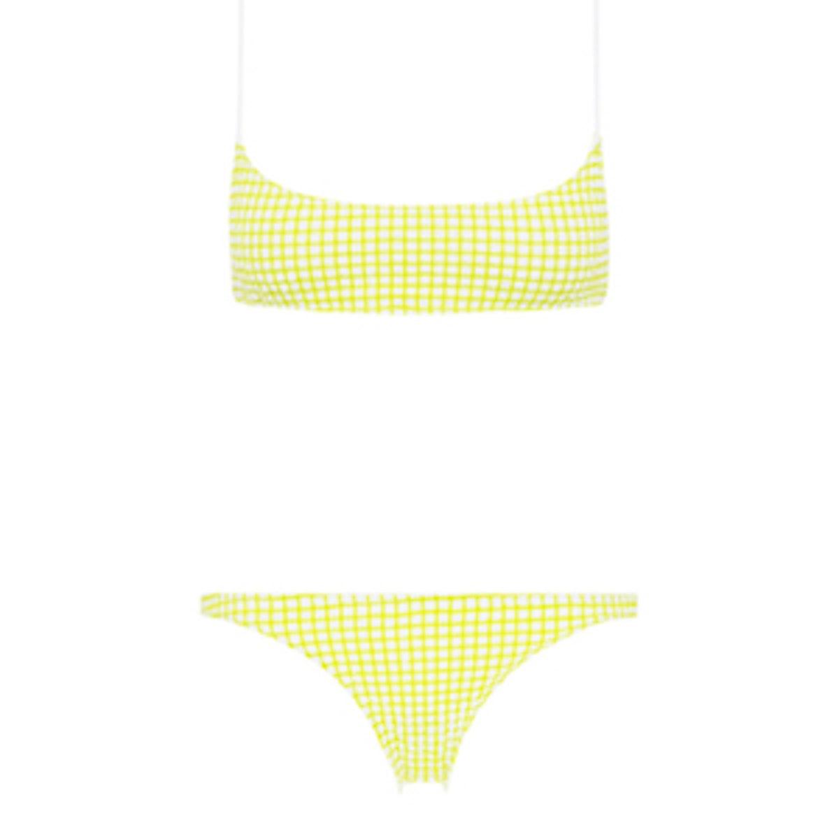 Strappy Crop & Bikini Bottom Set