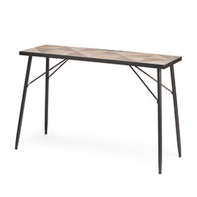 Mix Media Console Table