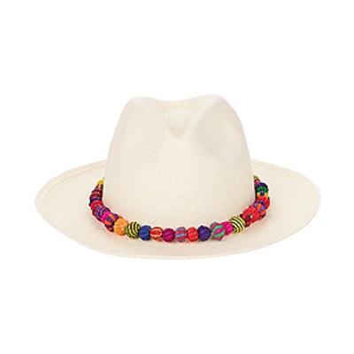 Ayampe Pom-Pom Trim Hat