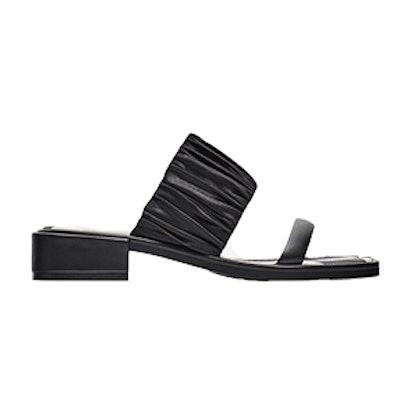 Flat Striped Sandals