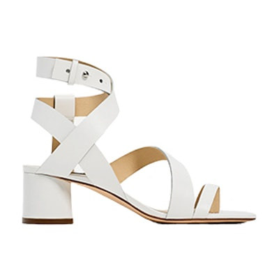 Leather Strappy Heeled Sandals