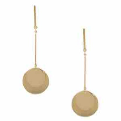 Double Disc Strand Earrings