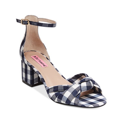 Ivee Block-Heel Sandals
