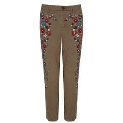 Florence Embroidered Chino