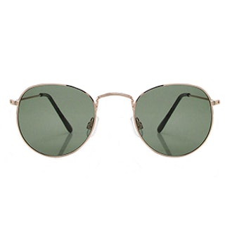 India Retro Small Lens Aviator Sunglasses