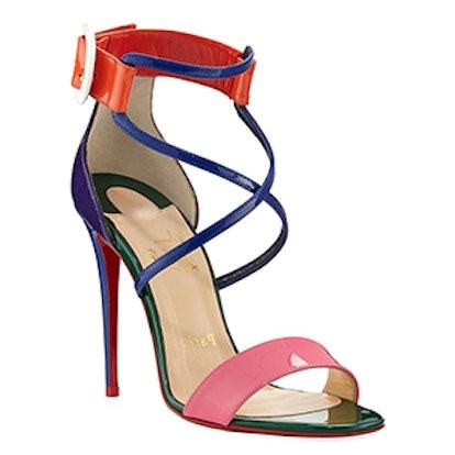 Choca Colorblock Red Sole Sandal