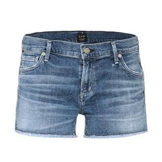 Ava Cut-Off Denim Shorts