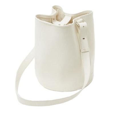 Small Bucket Bag in Milk