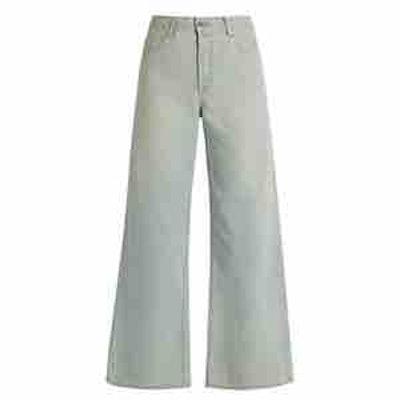 Eve Denim Charlotte High-Rise Wide-Leg Jeans