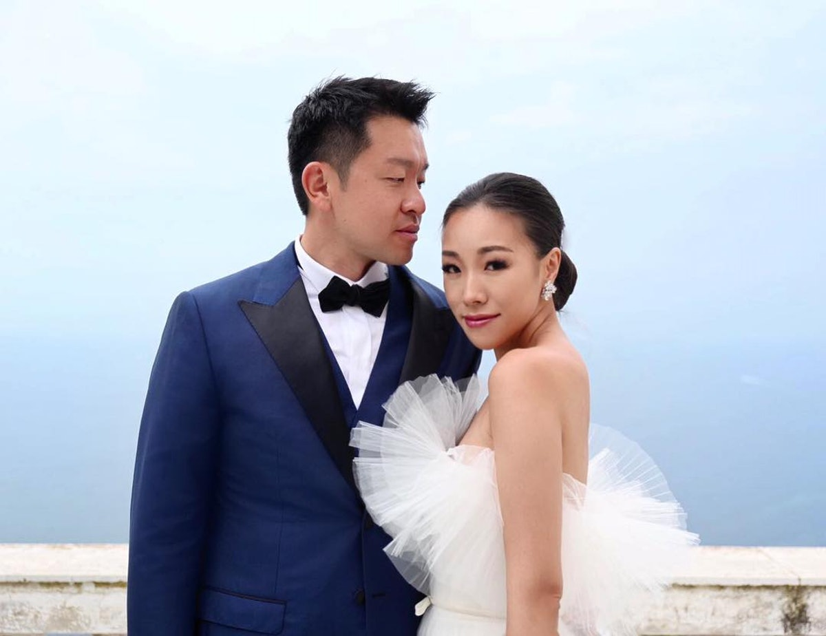 You Won't Believe This Fashion Blogger's Insanely Gorgeous Wedding Gown