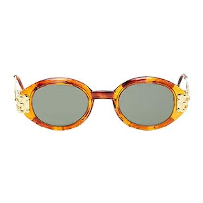 Replay Vintage Oval Sunglasses