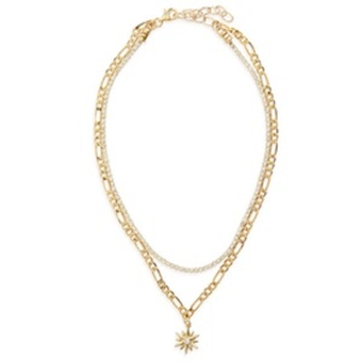 What's Luv Layered Necklace
