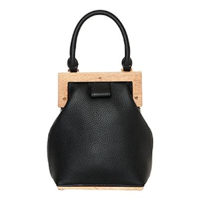 Wooden Clasp Bag
