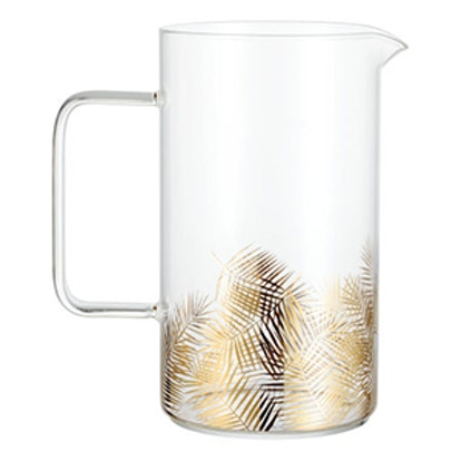 Pitcher with Printed Design