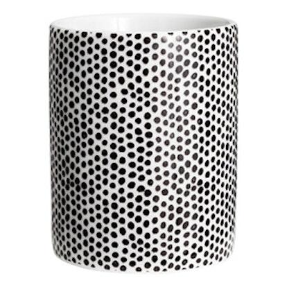 Patterned Porcelain Mug